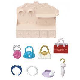 Sylvanian Families Mesto - módny butik s kabelkami a doplnkami