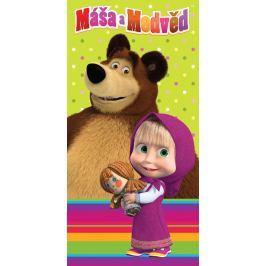 Jerry Fabrics Máša a Medveď 008 Osuška