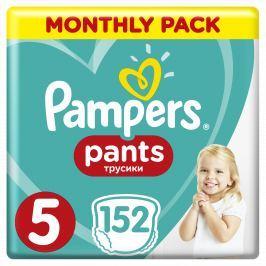 Pampers Plienkové nohavičky Pants 5 Mesačné balenie 152 ks