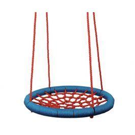 WOODY Hojdací kruh (priemer 85 cm) - červený