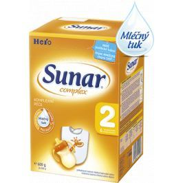 Sunar dojčenské mlieko Complex 2, 6x600g
