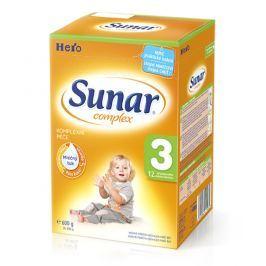 Sunar dojčenské mlieko Complex 3, 6x600g