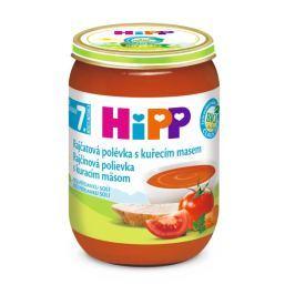 HiPP BIO Paradajková polievka s kuracím mäsom 6x190g