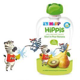 HiPP BIO 100% ovocia Hruška-Banán-Kiwi 100 g