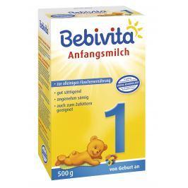 Bebivita Mlieko 1 Instantné počiatočná mliečna dojčenská výživa od narodenia - NOVINKA 5x500g