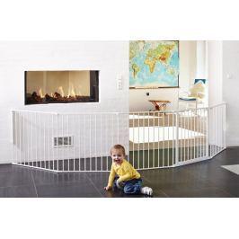 Baby Dan Priestorová zábrana Flex XXL, 90-350 cm - biela