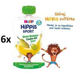 HiPP BIO Sport Hruška-Banán-Bielo hrozno-Ovos 6 x 120 g