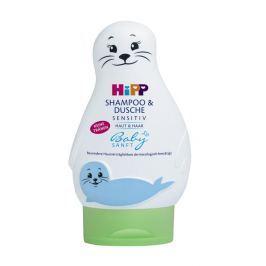 "HiPP Babysanft Šampón ""Vlasy a Telo"" (Uškatec) 200 ml"