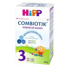 HiPP Pokračovacia MKV 3 Junior Combiotik 4x600g