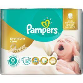 Pampers Premium Care 0 Newborn do 2,5kg, 30ks - jednorázové plienky