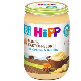 HiPP BIO Jemná zemiaková kaša s mrkvou a hovädzím mäsom, 220g