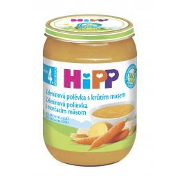 HiPP BIO Zeleninová polievka s morčacím mäsom