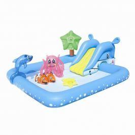 Bestway Nafukovací bazénik so šmykľavkou a mnohými doplnkami