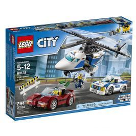 LEGO® City Police 60138 Naháňačka vo vysokej rýchlosti