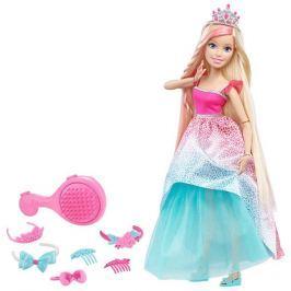 MATTEL Barbie Vysoká princezná s dlhými vlasmi - Blond