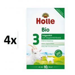 Holle BIO detská mliečna výživa na báze kozieho mlieka 3 - 4x400g