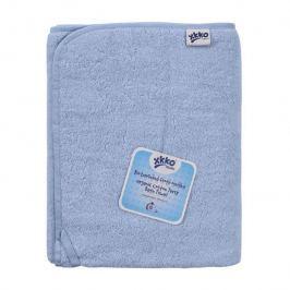 XKKO BIO bavlnená froté osuška Organic 150x75 - Baby Blue