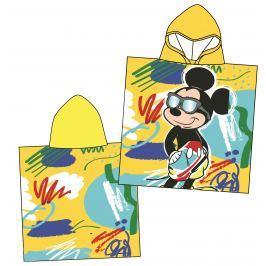 Disney by Arnetta Chlapčenské pončo Mickey Mouse - žlté