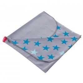 BeeMy Letná deka STARS GREY Spearmint