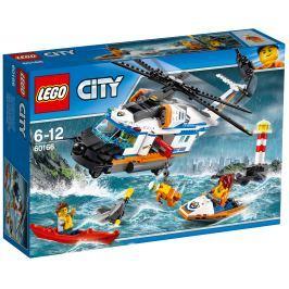 LEGO® City 60166 Coast Guard Výkonná záchranárska helikoptéra
