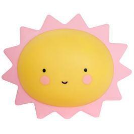 Little Lovely Company Nočné mini svetielko Slnka