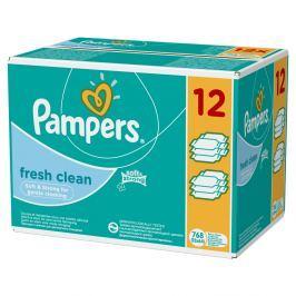 Pampers Vlhčené obrúsky Fresh Clean 12x64ks