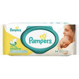 Pampers Obrúsky Sensitive New Baby 54ks