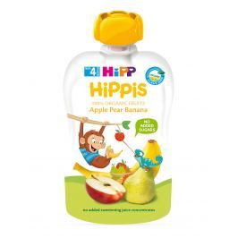 HiPP BIO 100% ovocia Jablko-Hruška-Banán 6 x 100 g