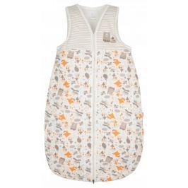 G-mini Detský spací vak Sobík - béžovo-oranžový, veľkosť 70