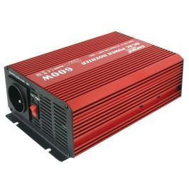 Menič napätia 12V/230V 600W CZ čistá sinusovka + USB CARSPA