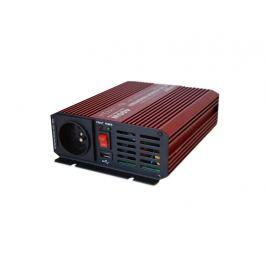Menič napätia 12V/230V 400W CZ čistá sinusovka + USB CARSPA