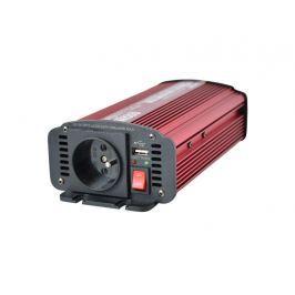 Menič napätia 12V/230V 600W CZ + USB CARSPA