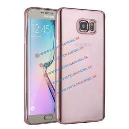 FORCELL METALLIC TPU obal Samsung Galaxy S6 ružový