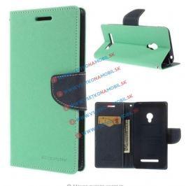 MERCURY FANCY Peňaženkový obal Asus ZenFone 5 (A500) zelený