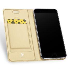 DUX Peňaženkový obal Asus ZenFone 4 (ZE554KL) zlatý