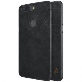 NILLKIN QIN LEATHER OnePlus 5T čierny
