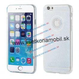 FORCELL Silikónový obal Apple iPhone 6 Plus / 6S Plus GLITTER priehľadný
