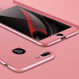 FORCELL 360° Ochranný obal Apple iPhone 7 Plus ružový