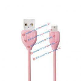 LESU MicroUSB Dátový kábel pre Android ružový