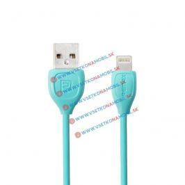 LESU MicroUSB Dátový kábel pre Android tyrkysový