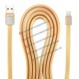 REMAX PLATINUM Dátový kábel Lightning zlatý