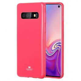 MERCURY JELLY TPU Obal Samsung Galaxy S10 ružový (strong)