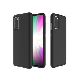 FORCELL HYBRID Ochranný obal Samsung Galaxy S20 čierny
