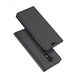 DUX Peňaženkový obal Huawei Mate 20 Lite šedé