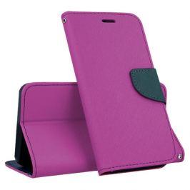 FORCELL FANCY Peňaženkový kryt Sony Xperia XZ2 fialový