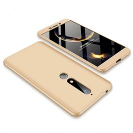 FORCELL 360° Ochranný obal Nokia 6.1 zlatý