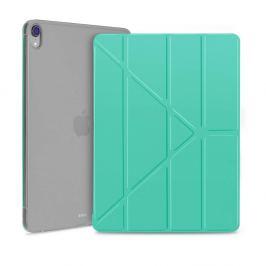 FORCELL LEATHER Zaklápací obal Apple iPad Pro 12.9 (2018) zelený