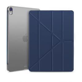 FORCELL LEATHER Zaklápací obal Apple iPad Pro 12.9 (2018) modrý