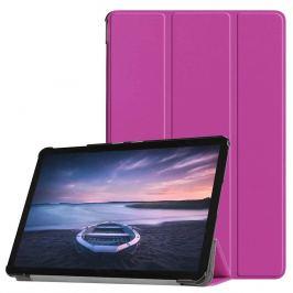 FORCELL LEATHER Zaklápací obal Galaxy Tab S4 10.5 / T835 fialový
