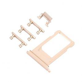 UNBRANDED SIM Slot + bočné tlačidlá - Apple iPhone 6S Plus - zlatá